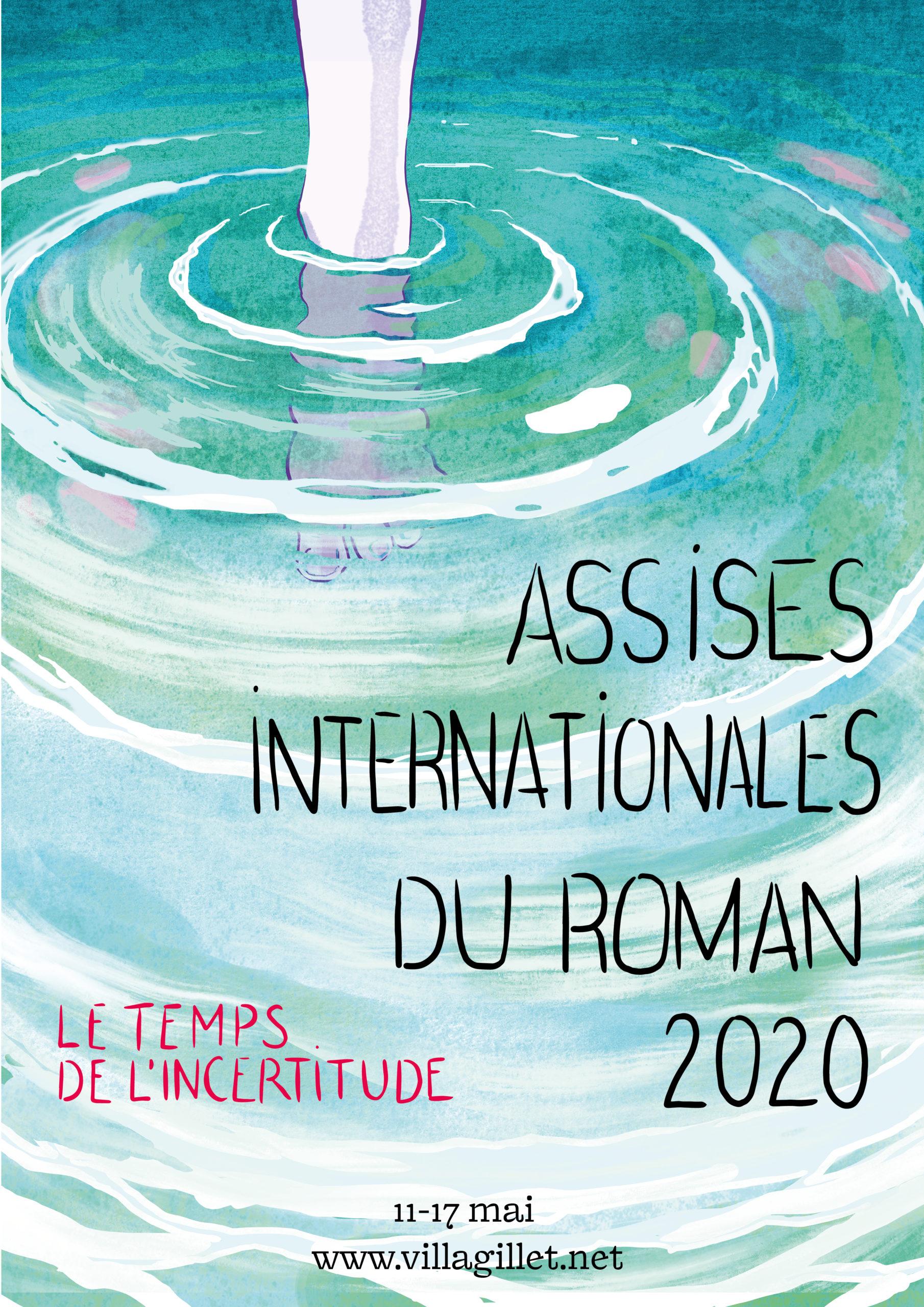 Affiche de Chloé Cruchaudet pour les Assises 2020