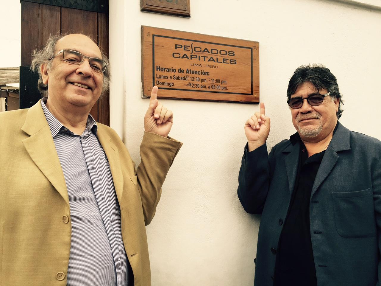 Victor Hugo de la Fuente & Luis Sepulveda