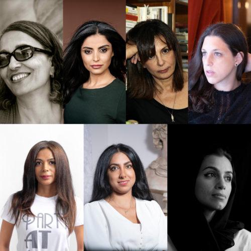 Parole à Hajar Bali, Sara Omar, Ersi Sotiropoulos, Ariana Harwicz, Ghada Aboud,  Laila Al Mutawa et Alia Al Shamsi
