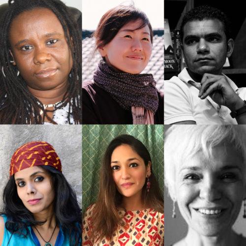 Parole à Unoma Azuah, Keum Suk Gendry-Kim, Ahmed Awny, Meena Kandasamy, Aanchal Malhotra et Dulce Maria Cardoso